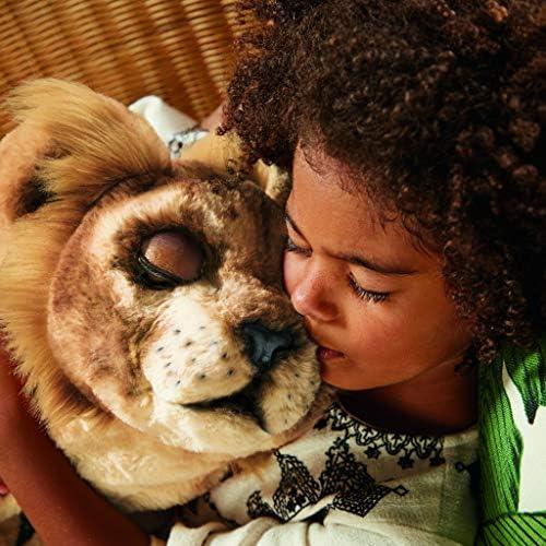 Hasbro FurReal Friends E5679EU4 FurReal König der Löwen - Brüllender Simba, interaktives Plüschspielzeug, Multicolor