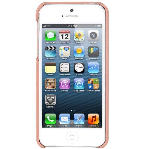 Melkco Leder Snap Cover für Apple iPhone 5 pink