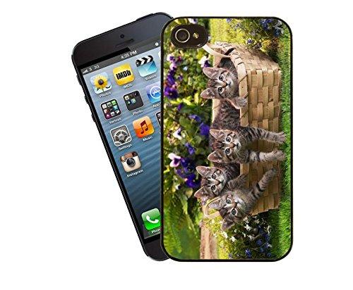 Kätzchen design 002 iPhone Fall - diese Abdeckung passt Apple Modell 4 und 4 s - von Eclipse-Geschenk-Ideen