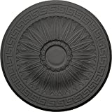 Ekena Millwork CM20HASGS Randee Ceiling Medallion, 20'' OD x 1 3/8'' P, Steel Gray