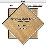 Venture Horizon Revolving Media Tower 600 Oak