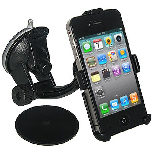 Amzer Suction Cup Mount for Windshield, Dash or Console for iPhone 4