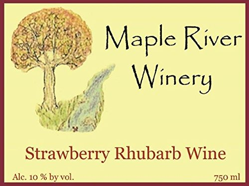 Strawberry Rhubarb Wine