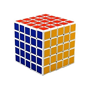 5x5 Speed Cube Magic Square Cube Intellectual Toy IQ Puzzle Gift Super-Durable Colorful