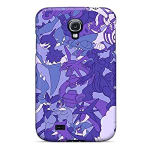 Shockproof Cell-phone Hard Covers For Samsung Galaxy S4 With Customized Beautiful Grateful Dead Pattern EricHowe