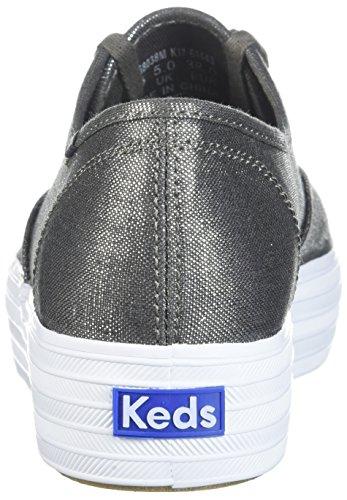 Sneaker In Metallo Tre Pezzi Metallizzati Da Donna Keds