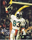 clayton mark - Mark Clayton Autographed Photo - 8x10 - Autographed NFL Photos