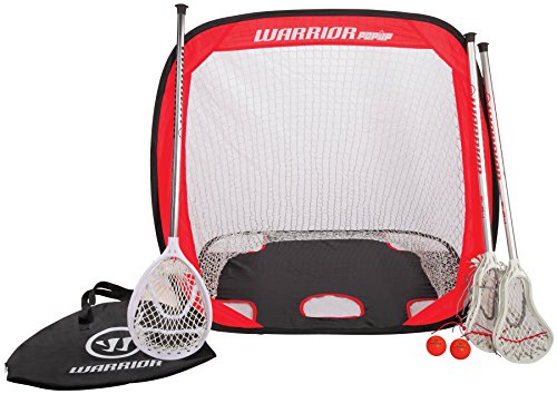 Mini Warrior Bag (Warrior Mini Lacrosse Target Pop-Up Set with Travel Bag, Orange, One)