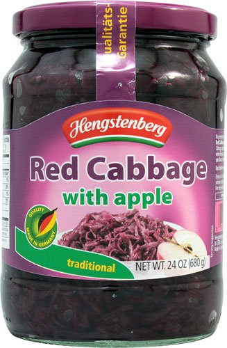 Hengstenberg Red Cabbage with Apple, 24 Ounce (Pack of - And Red Apple Cabbage