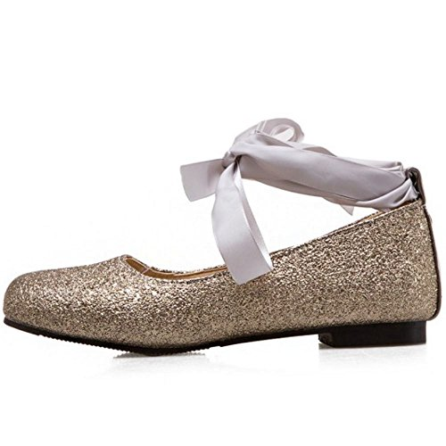 Gold Zapatos Glitter Melady Ballets Daughter Flat xqwYvRC
