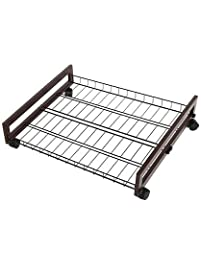tidy living rolling wire shelf underbed