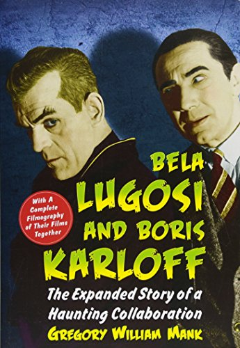 s Karloff: The Expanded Story of a Haunting Collaboration, with a Complete Filmography of Their Films Together (1958 Baltimore Colts)