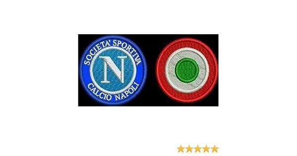 Patch Napoli + Diana Copa Italia parche bordado bordado Termoadhesivo -178: Amazon.es: Hogar