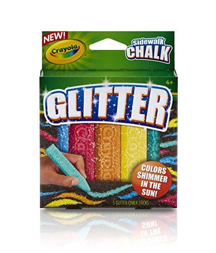 Crayola Special Effects Sidewalk Chalk - Glitter (Sidewalk Paint Crayola compare prices)