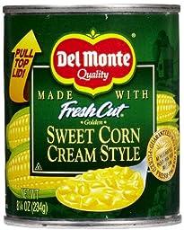 Del Monte Cream Corn - 8.5 oz - 12 pk
