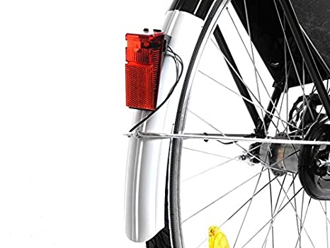 Lampada luce led per bici luce posteriore parafango riflettore