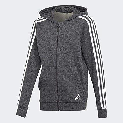 adidas Yb 3s FZ Hood Camiseta, Niños