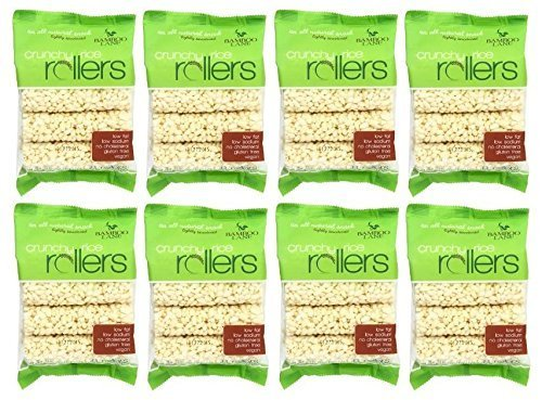 Bamboo Lane Crunchy Rice Rollers: 3.5oz 8 Packs of 8 Rollers by Crunchy Rice Rollers (Rice Rollers compare prices)