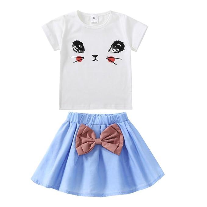 Amazon.com: elevin (TM) Toddle falda tutú Kid bebé chica ...