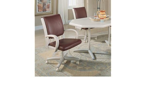 Sensational Amazon Com Chromcraft Core Tilt Swivel Arm Chair Cjindustries Chair Design For Home Cjindustriesco