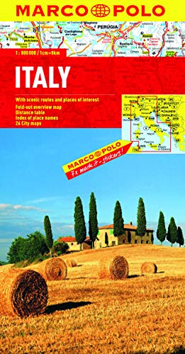 Italy Marco Polo Map (Marco Polo Maps) (Italy Driving Map)
