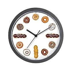CafePress Donut Time Wall Clock - Standard Multi-color