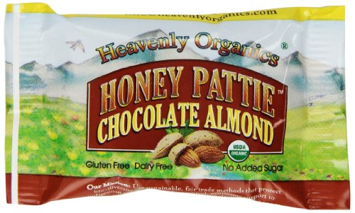Heavenly Organics Honey Pattie, Chocolate Almond, 40 Packages