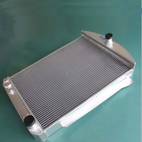 GOWE RADIATOR For ALUMINUM ALLOY RADIATOR For CHEVY CAR STREET ROD AUTO 1940 1941 3ROW 70MM CORE