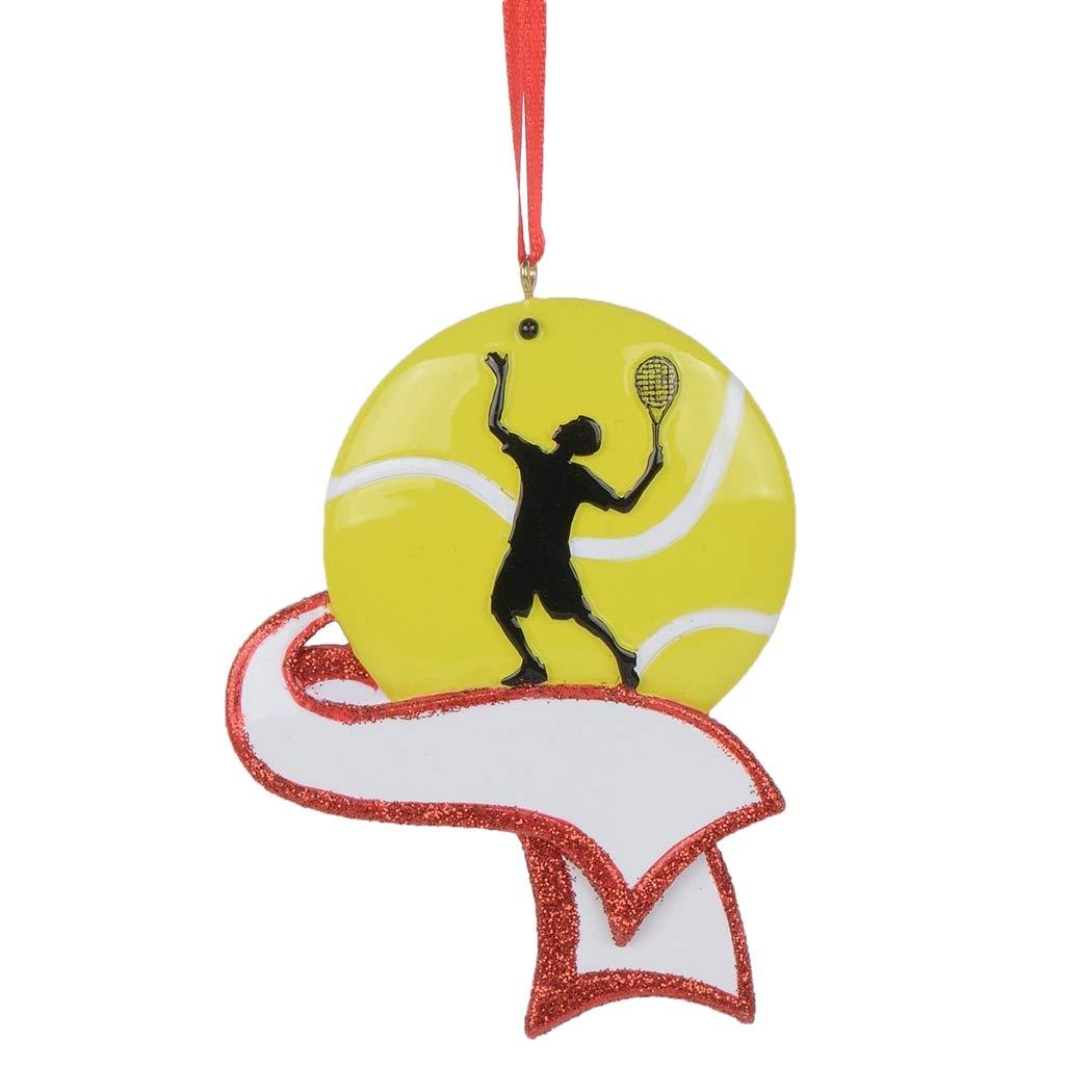 MAXORA Personalized Baseball Ornament for Christmas Tree Decor Free Customization
