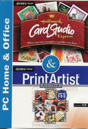 Hallmark Card Studio Express v1.0 & Print Artist Platinum v12.0