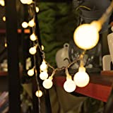 Innoo Tech Indoor Fairy Lights 100 Led Globe String Festoon Party Lighting Warm White for Patio Christmas Wedding Bedroom Bild 4