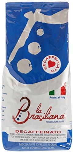 La Brasiliana Caffè Decaffeinato, Bohne, 1er Pack (1 x 1 kg)