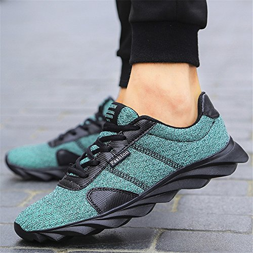 Trainers Lightweight BRKVALIT Fitness Walking Gym Trainers Shoes Women Running Men Women Men Green Sports wwqFrz6x