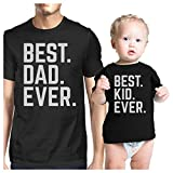 365 Printing Best Dad And Kid Ever Dad Baby Couple T Shirts Gift For Baby Shower