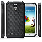 i-Blason Armadillo Series Compatible with Samsung Galaxy S4 SIV S IV i9500 2 Layer Armored Hybrid Cover Case with Inner Soft Case and Hard Outter Shell AT&T, Verizon, Sprint, T-Mobile Manufactured by i-Blason (Black)