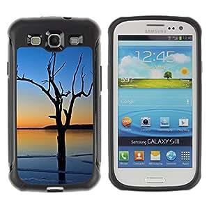 "Hypernova Defender Series TPU protection Cas Case Coque pour Samsung Galaxy S3 III I9300 [Puesta de sol Beautiful Nature 3""]"