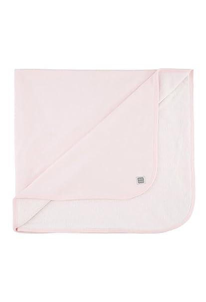 Arrullo 100% Algodón Recién Nacido Rosa- Doble Capa (algodón y rizo) - Canastilla Hospital Bebé - Colección Plain - Minutus