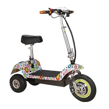 XYDDC Mini Scooter eléctrico Plegable portátil para Adultos ...