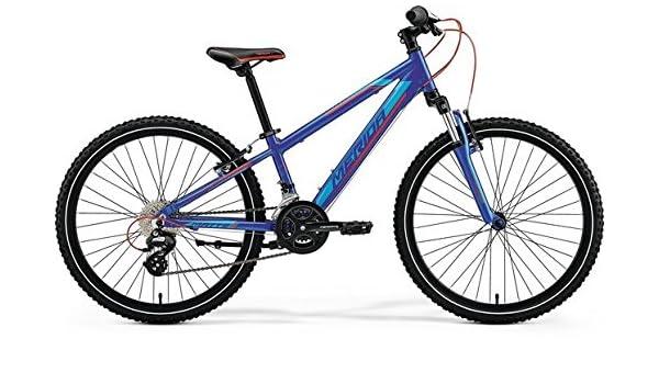 Unbekannt Merida MATTS J24 - Bicicleta de montaña Infantil (24 ...