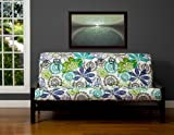 SIS Cover Bali Futon Cover Fabric (Removable futon cover fabric only. Futon frame and futon mattress sold separately) - Queen