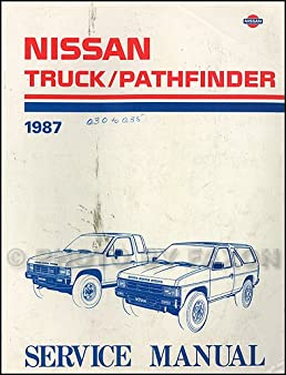 nissan truck pathfinder 1988 service manual model d21 series rh amazon com Nissan VTC Nissan VTC