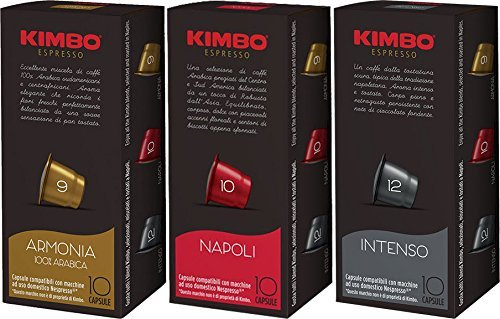 Kimbo Nespresso Compatible Capsule Variety Package