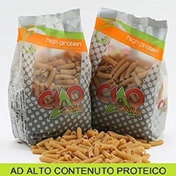Proteínas Pasta Ciao Carb sedani 250 g – 60% proteína ...