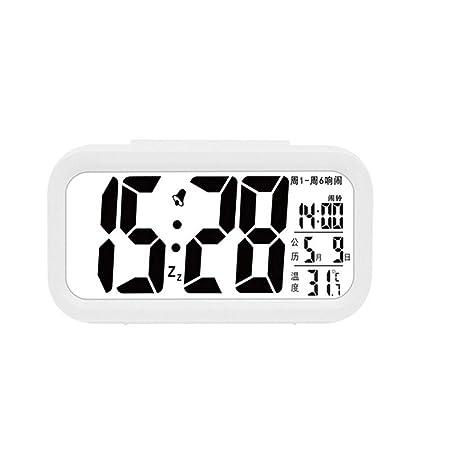 Despertador, reloj electrónico inteligente de plástico Despertador ...