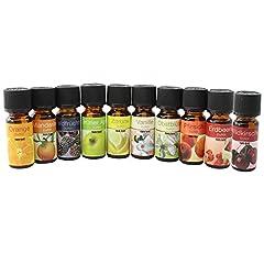com-four® 10x Verschiedene duftende Öle