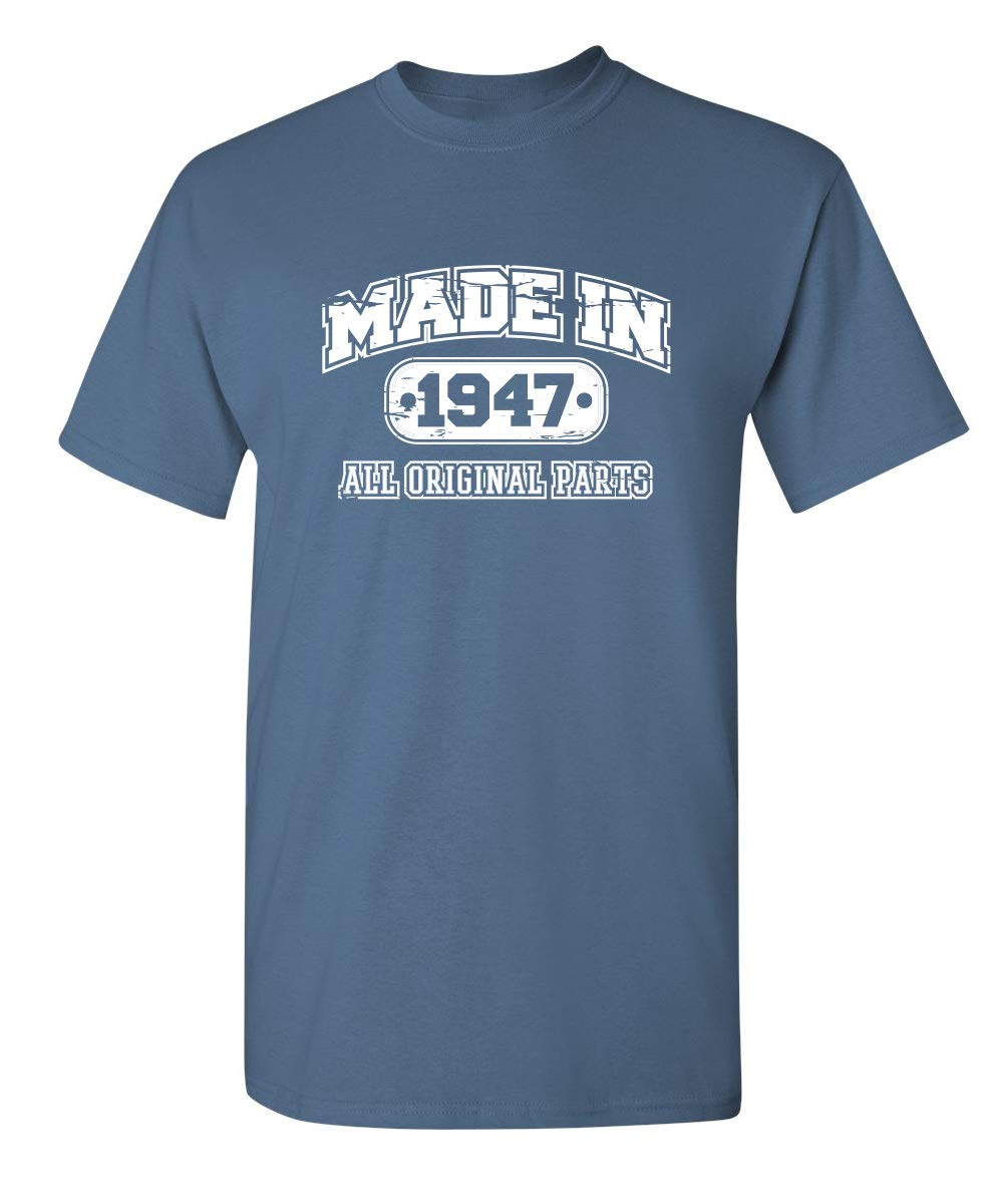 72nd Birthday Gag Gift Made In Sarcastic Funny T Shirt