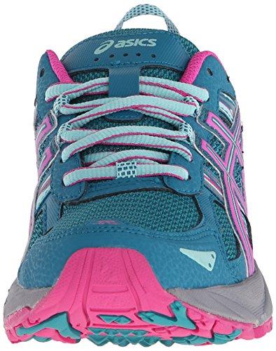 ASICS Women's Gel-Venture 5 Trail Runner Ocean Depth/Pink Glow/Aruba Blue 6 M US by ASICS (Image #4)