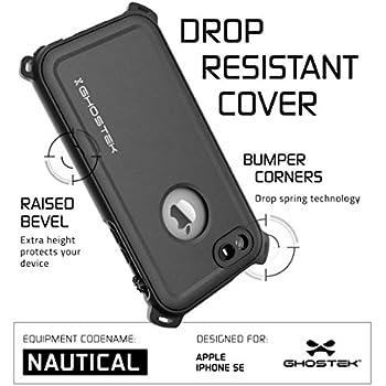iPhone SE Waterproof Case for Apple iPhone 5, 5S & SE  (Black)