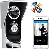 SHOPINNOV Interphone Portier vidéo Vision nocturne App iOS + Android Détection de mouvement
