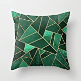 Beautifulseason Pillow Covers Of Geometry 20 X 20 Inches / 50 By 50 Cm,best Fit For Study Room,lover,floor,home Office,dinning Room 2 Sides
